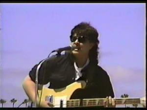 Mike with The RADICAL MOLESTERS, Del Mar Fair, Del Mar, CA, 6/29/89