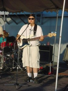 CenterAisle - Playing onboard the USS Peleliu, July 4, 2003.